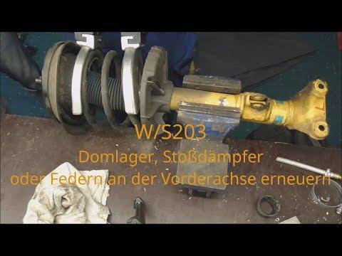 DOMLAGER VORNE LINKS RECHTS MERCEDES BENZ C-KLASSE W203 S203 CL203