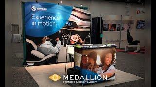 Benefits of Medallion Portable Fabric Displays