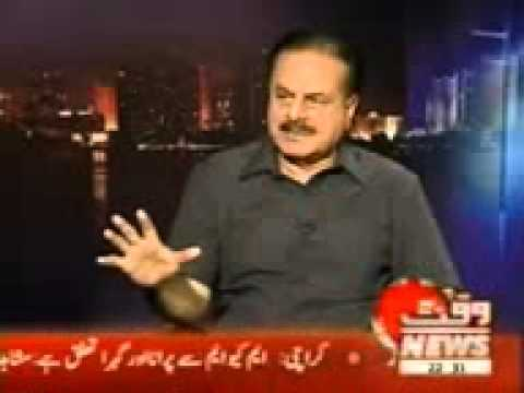 General Hameed Gull Astonishing facts about Indian Army and Future of Pakistan Waqt news