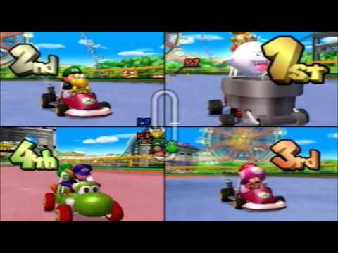 4-Player MKDD Mushroom Cup Competitive Grand Prix