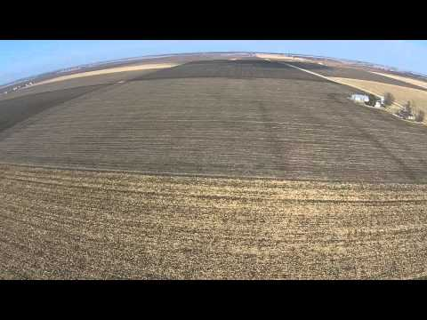 Francis Bergmeier Farm Aerial Tour - Hancock County, IL