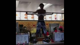 Boonk Gang 1 Million Hood Slip & Slide in CHICK FIL A