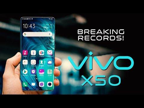 VIVO X50 PRO - Breaking Smartphone Records!