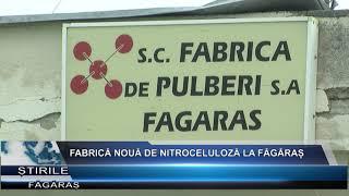 Fabrică noua de nitroceluloza la Fagaras