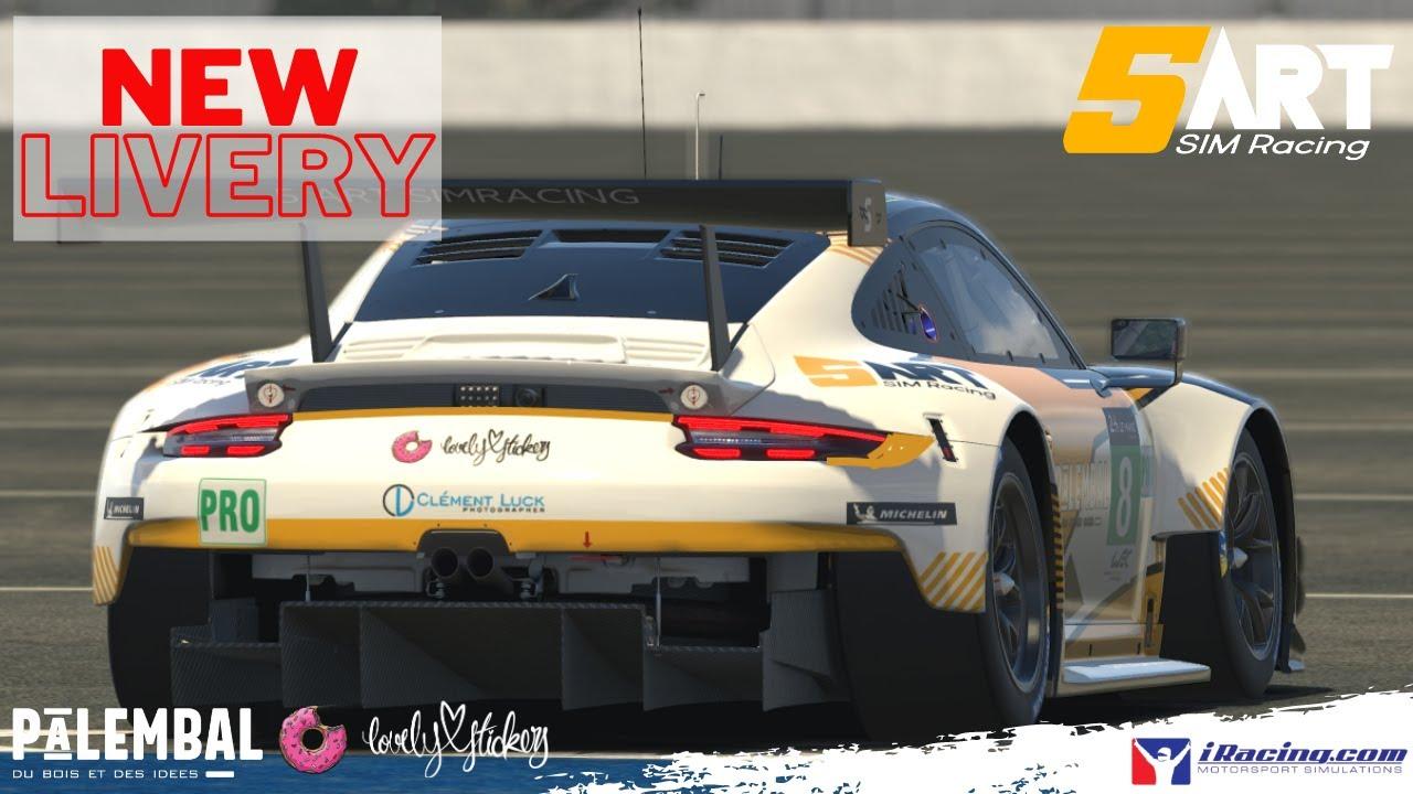 5ART NEW LIVERY - 911 RSR