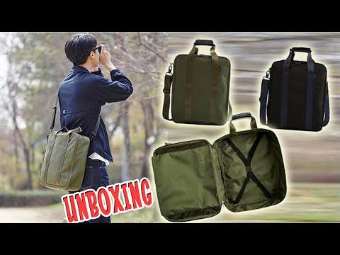 TAS - S10 Green Black Korea Style Travel Trunk Bag - Tas Selempang