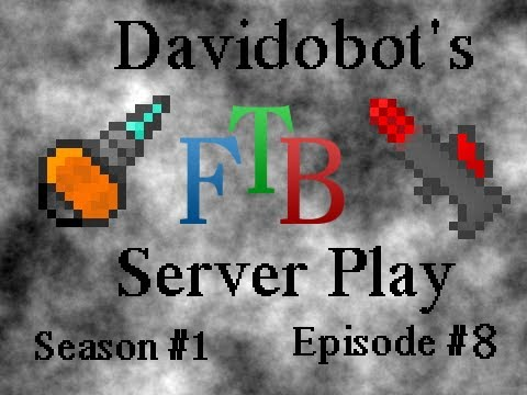 FTB Server Play Ep.8 - Starting a Geothermal Power Grid