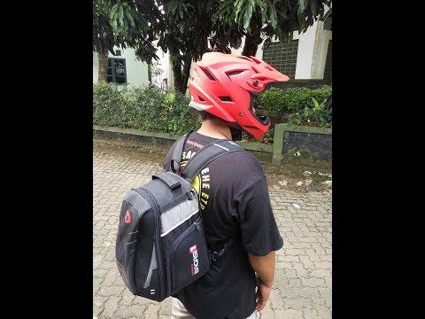 Unboxing Helmet THH T-42 Downhill kembaran FLY RACING DEFAULT HELMET