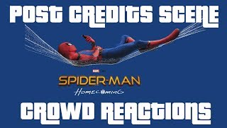 Spider-Man: Homecoming - POST CREDITS SCENE - Theatre Audience Reaction Mashup