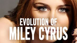 Repeat youtube video Miley Cyrus: The Evolution of... Miley