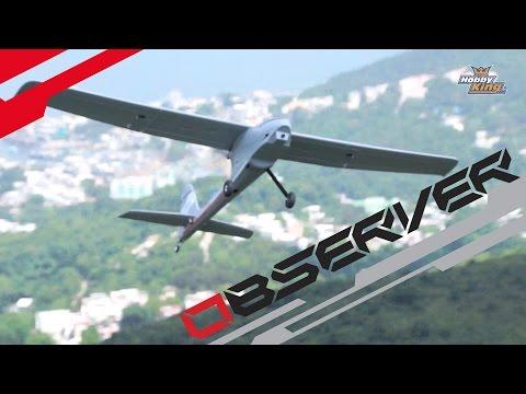 Quanum Observer FPV Plane - HobbyKing Product Video