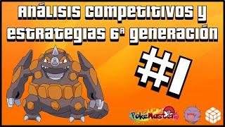 Análisis Competitivos y Estrategias 6ª Generación - Rhyperior