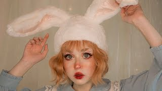 usagi • makeup tutorial • freckle makeup