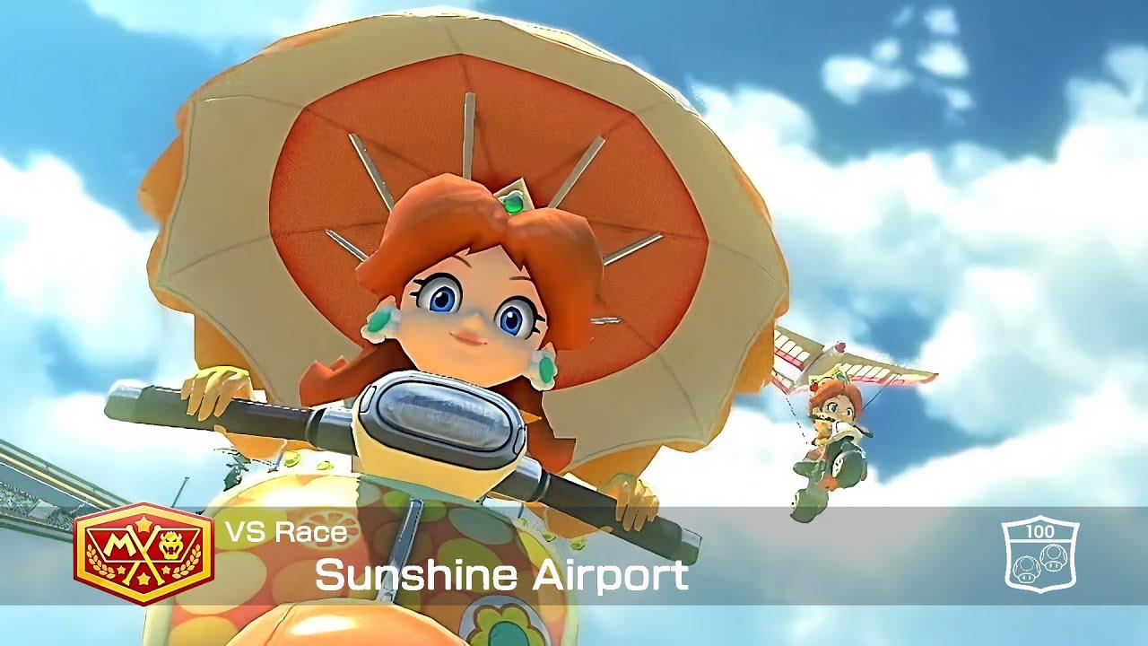 Mario Kart 8 Deluxe Daisy Sunshine Airport #76
