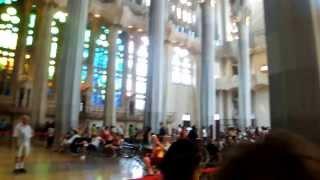 Барселона, Испания. Собор Святого Семейства. Саграда Фамилия. Гауди.(, 2013-11-03T14:11:38.000Z)