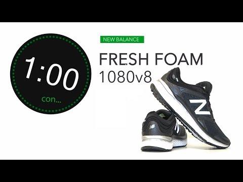New Balance Fresh Foam 1080v8 2018: Máxima amortiguación y comodidad para runners