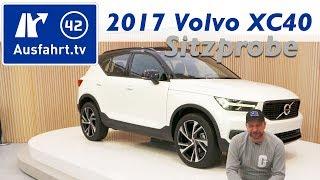 2017 Volvo XC40 - Kompakt-SUV aus Schweden - Weltpremiere in Mailand, Sitzprobe [4k]