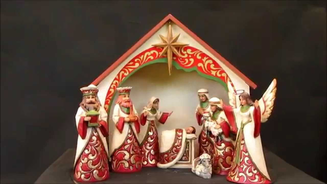 Jim Shore Nativity Figurine Set Our Blessed King Is Born Heratwood Creek 4041092