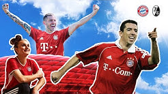 #FCBSCF - Roy Makaay & Lina Magull beim FC Bayern Spieltags-Countdown - Pack ma's!