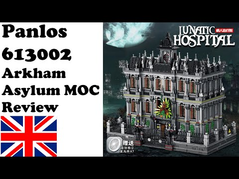 Panlos 613002 - The Lunatic Hospital (Arkham Asylum MOC) - Review