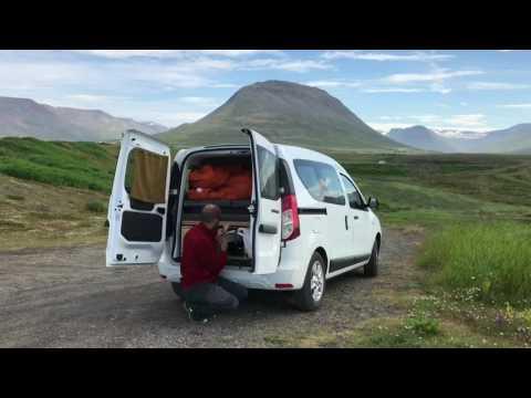 Traveling Iceland By Camper Van from SADcars.com