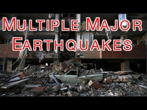 Multiple Major Quakes: Iran/Iraq, Costa Rica + a Warning to San Francisco