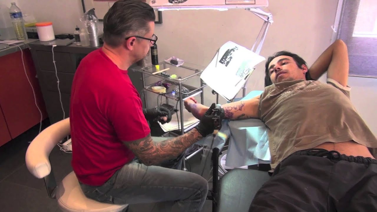 how to get a free tattoo on ink master