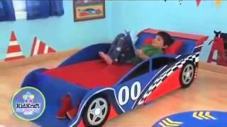 Racing Car Toddler Bed Boys Cars Kidkraft
