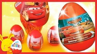 Maxi oeufs surprises CARS Disney Pixar - Touni Toys - Titounis
