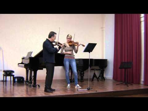Florin Paul, Konzertmeister NDR, Masterclass