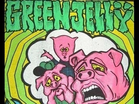 Green Jelly  Three Little Pigs Lyrics on screen