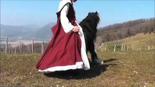 essai robe médiévale