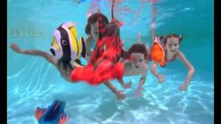 Swimways Rainbow Reef Fish Tv Commerical