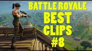 FORTNITE BEST CLIPS #8 - Battle Royale Highlights