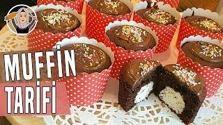 Süpriz Muffin-Kokostar kek tarifi-Hatice Mazi