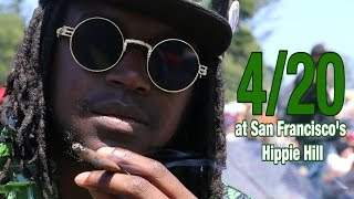 4/20 at San Francisco's Hippie Hill