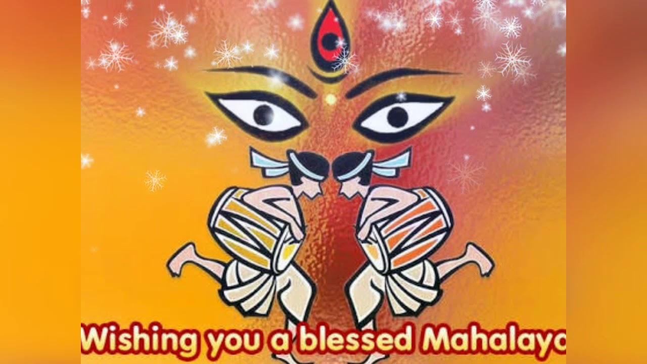 happy mahalaya hd