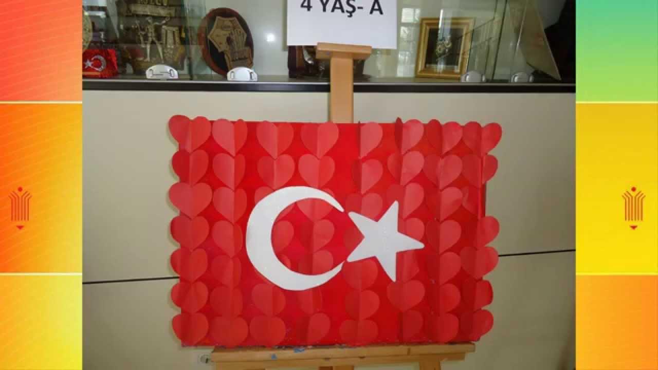 Istanbul Fatih Koleji Anaokulu Türk Bayraği çalişmalari Youtube