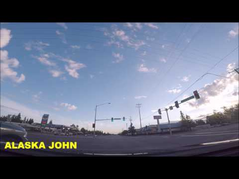 ALASKA DRIVING - Anchorage Downtown/Krispy Kremes  - June 25th 2017