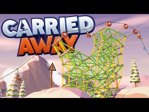 Carried Away - The Largest Ski Lift Ever! - World 2 The Elps - Carried Away Gameplay Part 3
