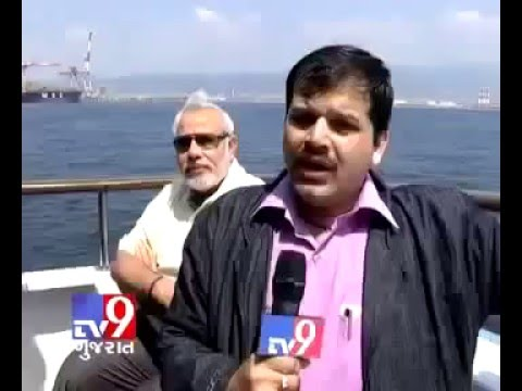 Tv9 Gujarat Narendra Modi's dream for Port  DHOLERA SIR | Port News TV9 Gujarati For DHolera Project