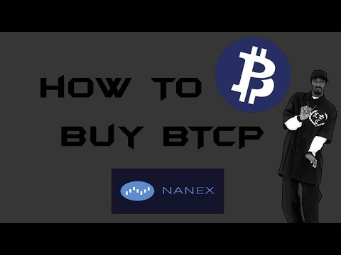 How To Buy Bitcoin Private On Nanex !