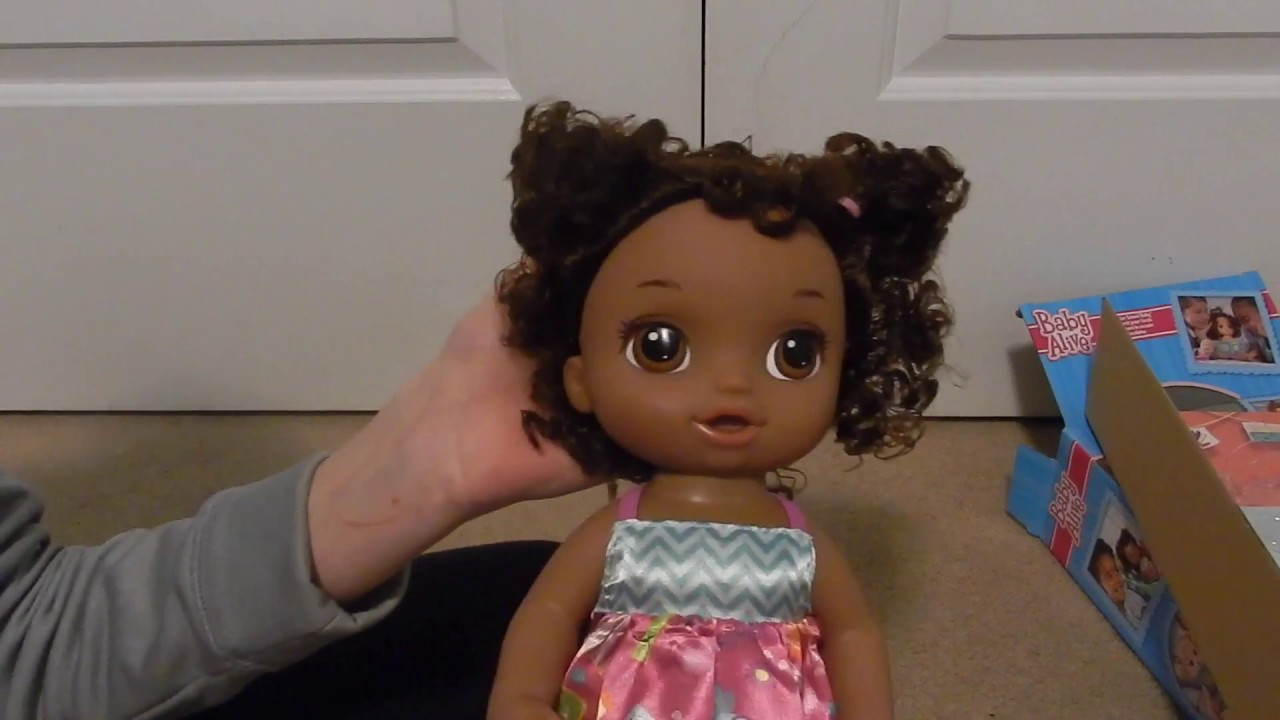 Baby Alive Ready For School African American Doll Box