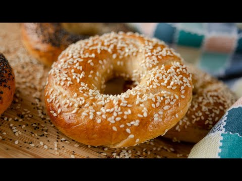 Вкусные БЕЙГЛЫ или домашние БУБЛИКИ   простой постный рецепт