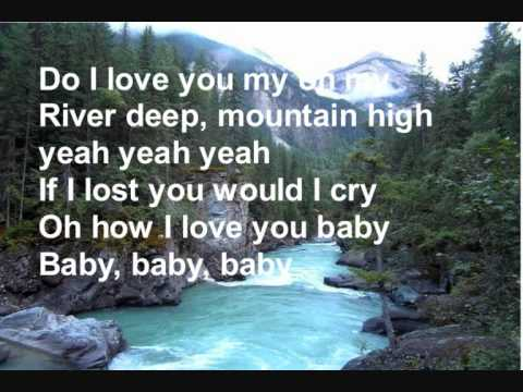 River Deep Mountain High+lyrics - Tina Turner (from glee)