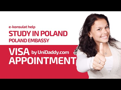 How to Take Visa Appointment at Polish Embassy: Study in Poland