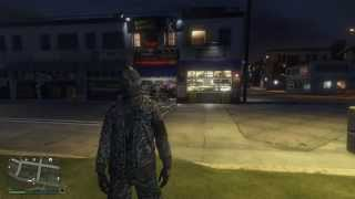GTA V PC how to equip a parachute on your back