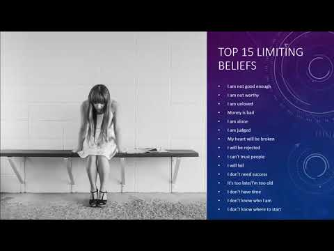 Raising Your Vibration Part 6   Limiting Beliefs