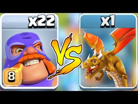 """END BOSS DRAGON vs. EL PRIMO """"Clash Of Clans"""" NEW UPDAtE COC"""