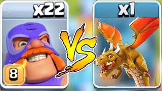 "END BOSS DRAGON vs. EL PRIMO ""Clash Of Clans"" NEW UPDAtE COC"